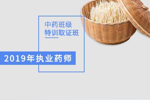 2019年中药特训取证班16800.00