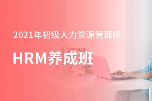 2021年初级人力资源管理师-HRM养成班