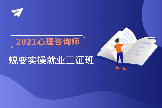 2021心理咨询师(国培网)-蜕变实操就业三证班 -电