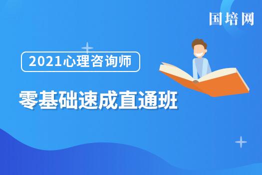 2021心理咨询师(国培网)-零基础速成直通班
