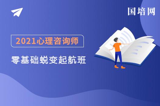 2021心理咨询师(国培网)-零基础蜕变起航班-电